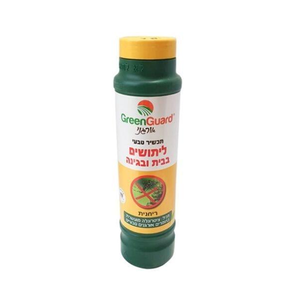 תכשיר טבעי ליתושים לבית ולגינה