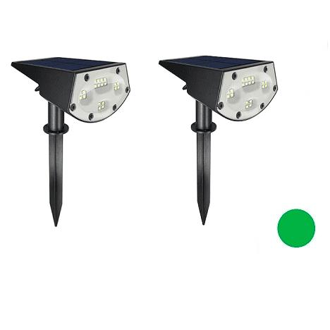 תאורת לד בשתי עוצמות ללא כבל אור ירוק