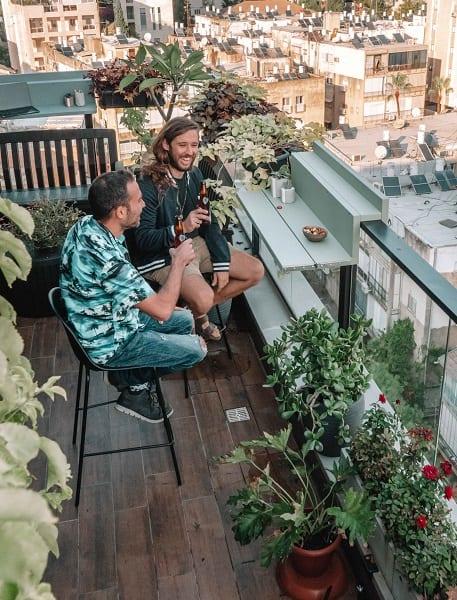 בר למרפסת